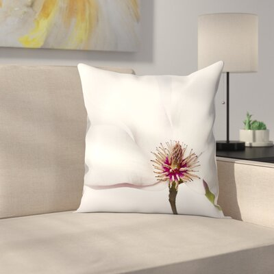 Maja Hrnjak Magnolia3 Throw Pillow Size: 16 x 16