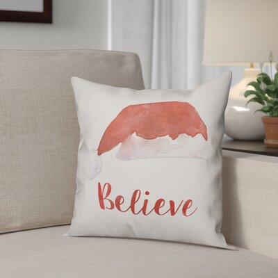 Believe Throw Pillow Type: Throw Pillow