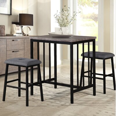 Norfolk 3 Piece Pub Table Set