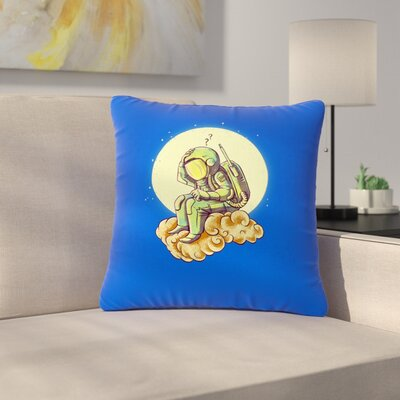 BarmalisiRTB Why in the Cloud Outdoor Throw Pillow Size: 18 H x 18 W x 5 D