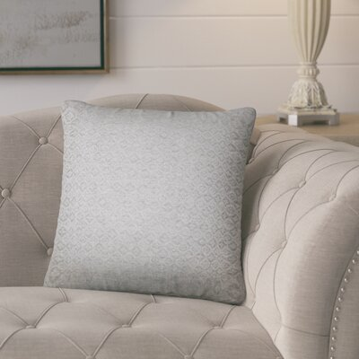 Polytric Solid Throw Pillow Color: Gray