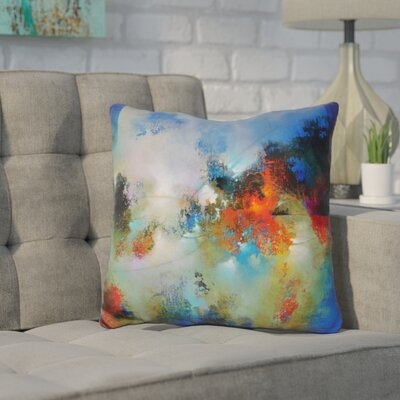 Cottone into the Continuum Throw Pillow