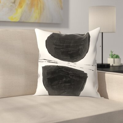 Olimpia Piccoli Without Words V Throw Pillow Size: 14 x 14