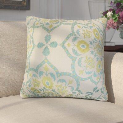 Armino Geometric Throw Pillow Color: Caribbean