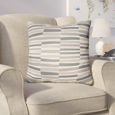 Colinda Throw Pillow Size: 18 H x 18 W x 4 D, Color: Grey
