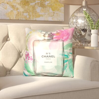 Drucilla Smell the Flowers Throw Pillow