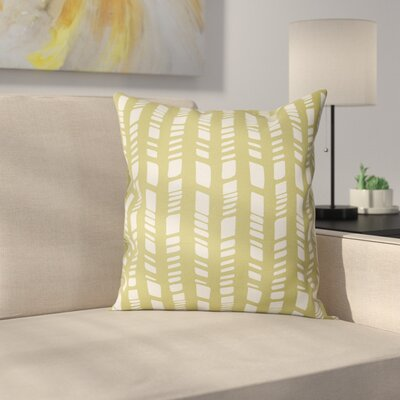 Nesler Throw Pillow Size: 18 H x 18 W, Color: Sage