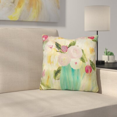 Earth Sky and Water Throw Pillow