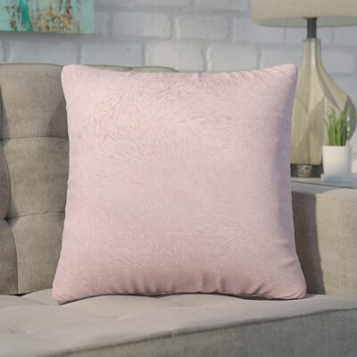 Cottrill Square Throw Pillow Color: Pink