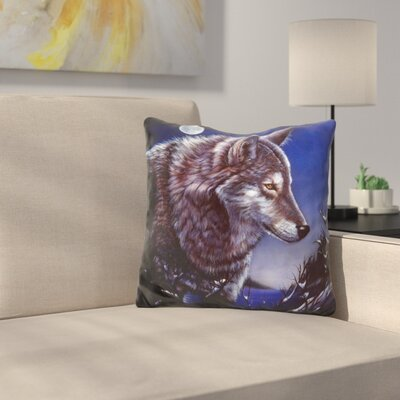 Lonely One Throw Pillow