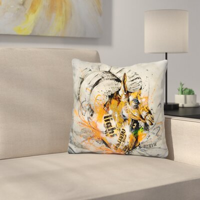 Reel Up Throw Pillow