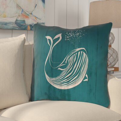 Lauryn Rustic Whale Square Euro Pillow