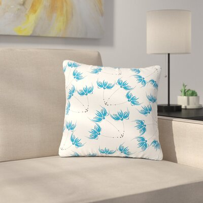 Maria Bazarova Flower Centaur 2 Digital Outdoor Throw Pillow Size: 16 H x 16 W x 5 D