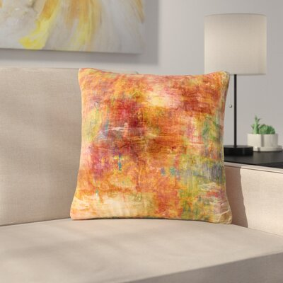 Ebi Emporium Hazy Olive Outdoor Throw Pillow Size: 18 H x 18 W x 5 D