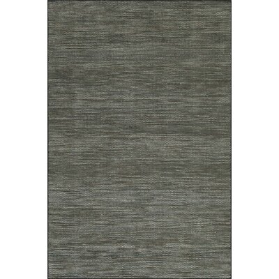 Minh Hand-Woven Midnight Area Rug Rug Size: Rectangle 8 x 10