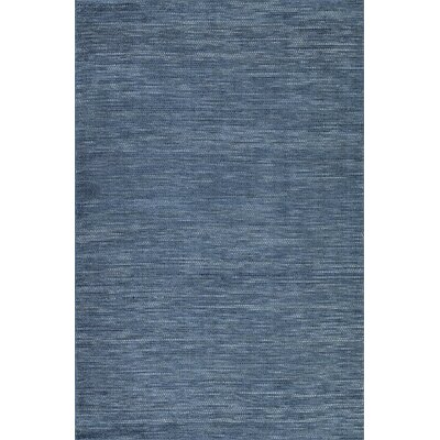 Minh Hand-Woven Navy Area Rug Rug Size: Rectangle 36 x 56