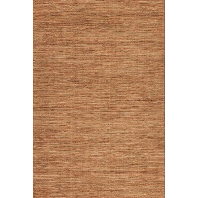 Minh Hand-Woven Spice Area Rug Rug Size: Rectangle 36 x 56