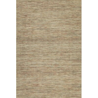 Minh Hand-Woven Mocha Area Rug Rug Size: Rectangle 9 x 13