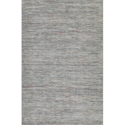 Minh Hand-Woven Silver Area Rug Rug Size: Rectangle 36 x 56