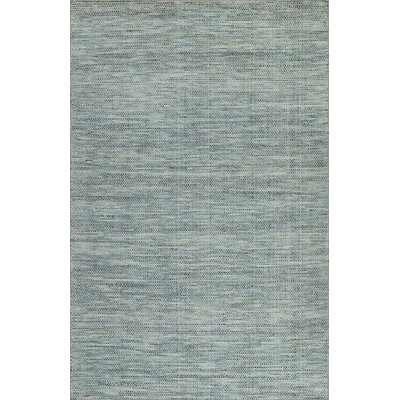 Minh Hand-Woven Pewter Area Rug Rug Size: Rectangle 5 x 76