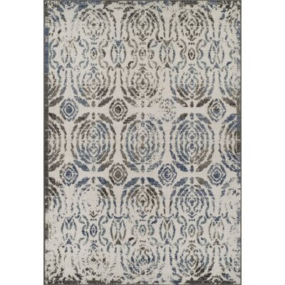 Hagopian Gray Area Rug Rug Size: Rectangle 53 x 77