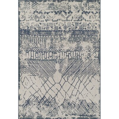 Hagopian Denim Area Rug Rug Size: Rectangle 53 x 77