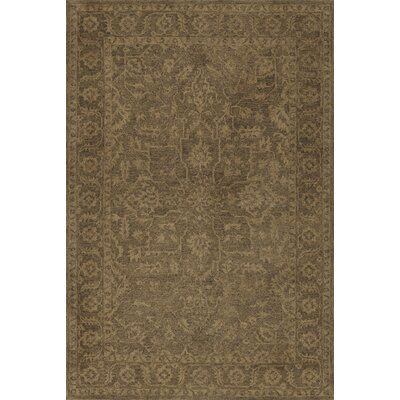 Chatmon Hand-Tufted Wool Walnut Area Rug Rug Size: Rectangle 8 x 10