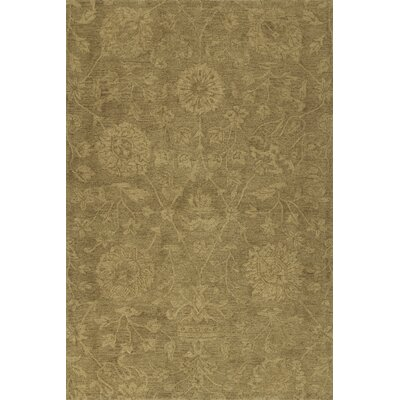 Chatmon Hand-Tufted Wool Golderod Area Rug Rug Size: Rectangle 36 x 56