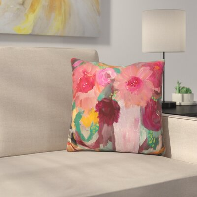 Surrender Softly Throw Pillow