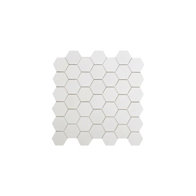 Thassos Hexagon 2 x 2 Marble Mosaic Tile in White