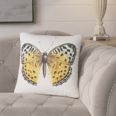 Benefield Butterfly Throw Pillow