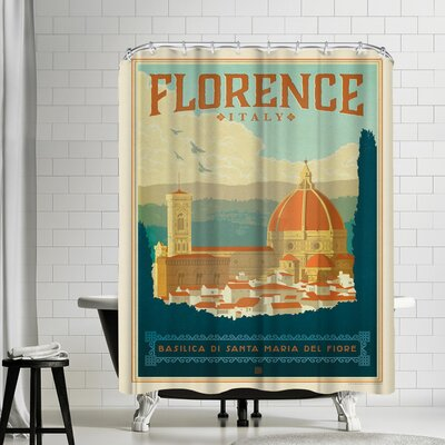 Italy Florence Shower Curtain