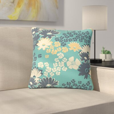 Zara Martina Mansen Bouquet Outdoor Throw Pillow Size: 18 H x 18 W x 5 D