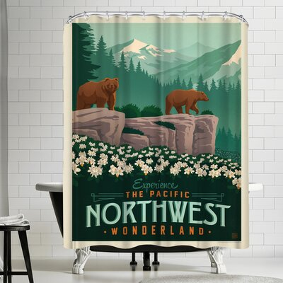 Macys Northwest Shower Curtain