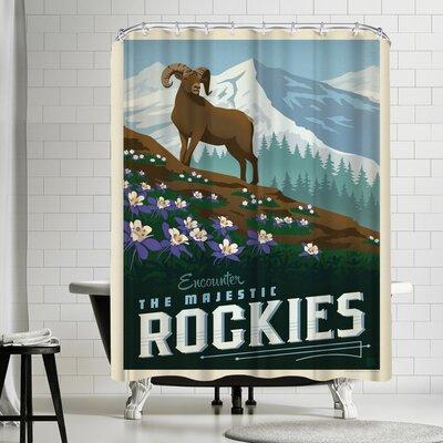Macys Rockies Shower Curtain