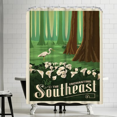 Macys Southeast Shower Curtain