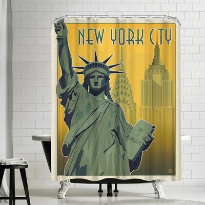 New York City NY Shower Curtain