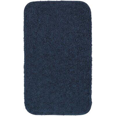 Banwell Bath Rug Size: 20 W x 34 L, Color: Dark Blue