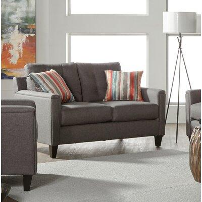 Longshore Loveseat Upholstery: Gray