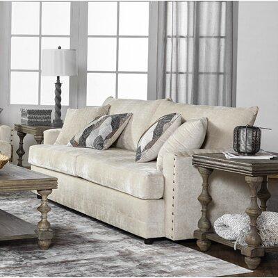 Hesse Sofa Upholstery: Darker White