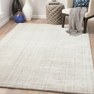 Widener Hand-Woven Whitecap Gray/Moonbeam Area Rug Rug Size: Rectangle 5 x 8