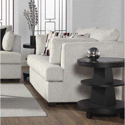 Perryman Loveseat Upholstery: Platinum