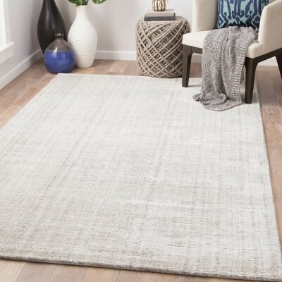 Widener Hand-Woven Vaporous Gray/Moonstruck Area Rug Rug Size: Rectangle 2 x 3