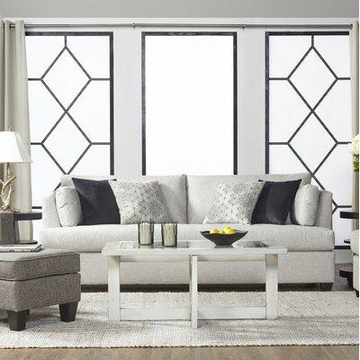 Perryman Sofa Upholstery: Pearl