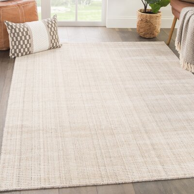 Eastvale Hand-Woven Humus/Parchment Area Rug Rug Size: Rectangle 10 x 14