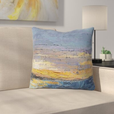 Caribbean Sunset by Carol Schiff Throw Pillow Size: 16 H x 16 W x 3 D