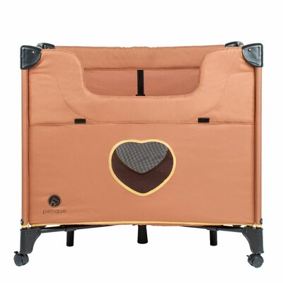 Bedside Lounge Pet Bolster Color: Tan