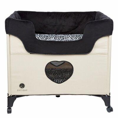 Bedside Lounge Pet Bolster Color: Cream