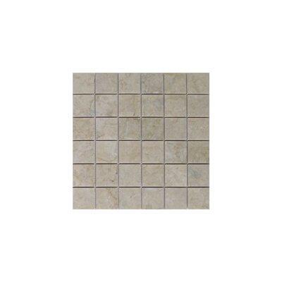 Olympos 2 x 2 Marble Mosaic Tile in Beige