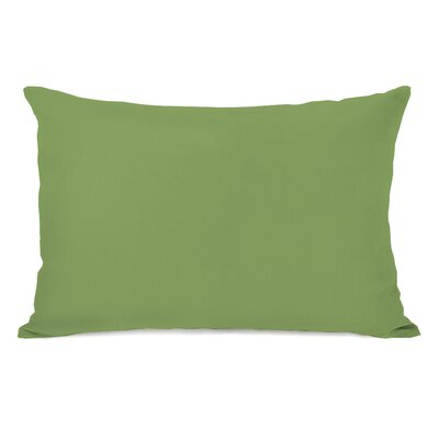 Bilderback Charcoal Outdoor Lumbar Pillow Color: Olive